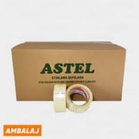ASTEL KOLİ BANTI 45MMx100MT ŞEFFAF BANT (KARGO DAHİL)